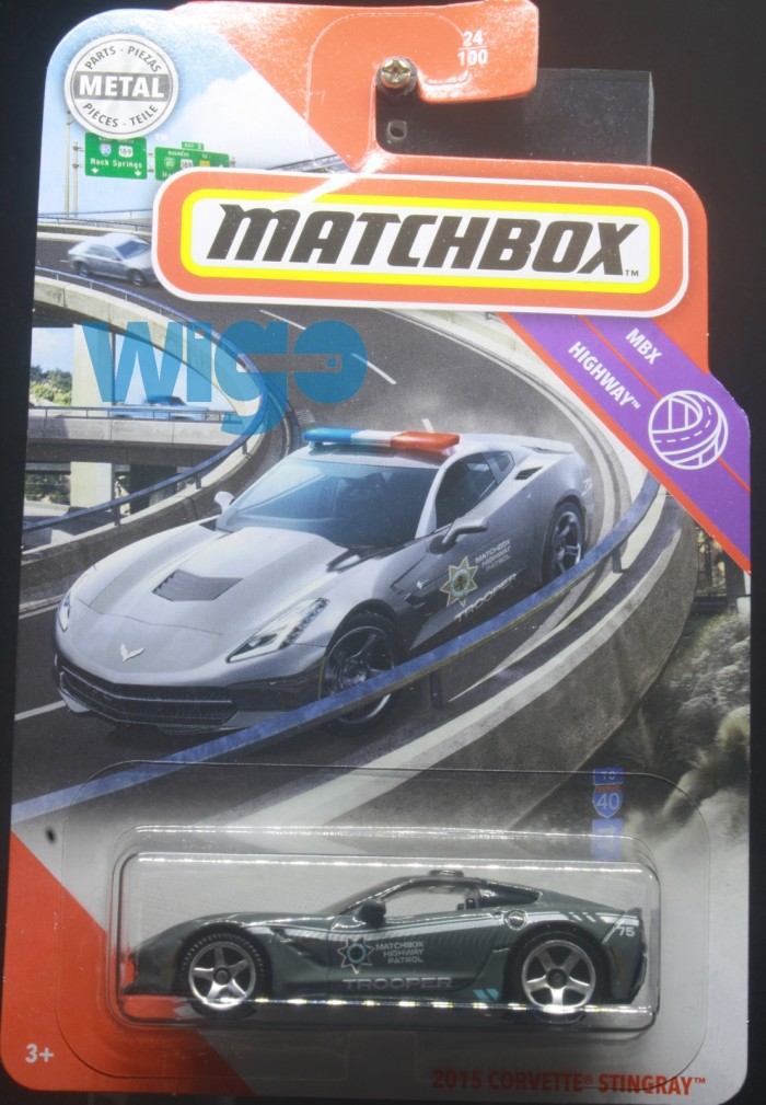 Jual Matchbox 2015 Corvette Stingray Abu Abu Police Lot V 2020 Diecast Kota Depok Wigo Hobby Tokopedia