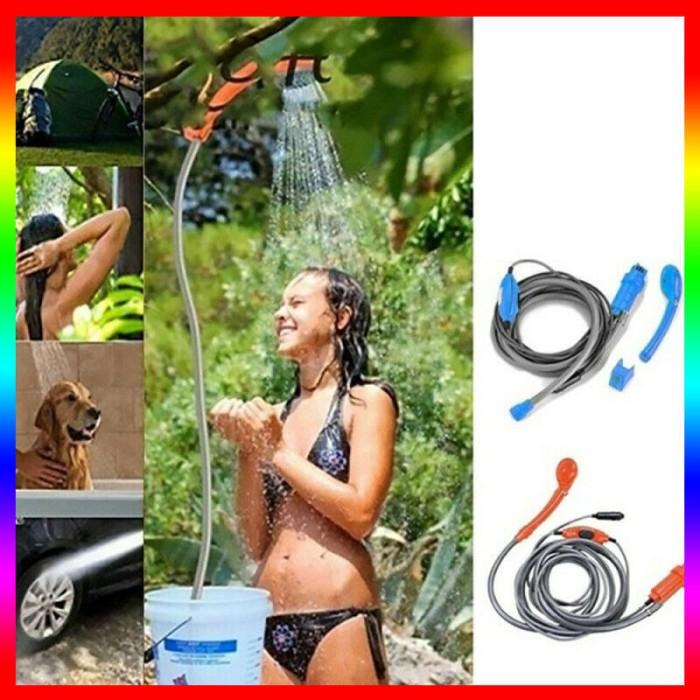 Foto Produk 12V Camping Car Shower Spray Pump Kit Portable Vehicle Outdoor dari ROBS STARS