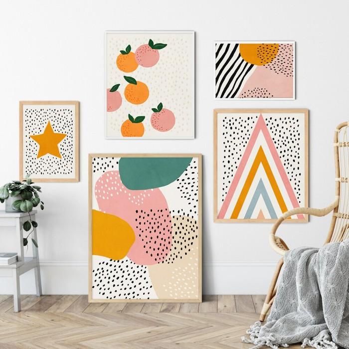 Jual Modern Posters Prints Color Speck Star Fruit Canvas Wall Art Picture Jakarta Barat Kapten99 Shop Tokopedia