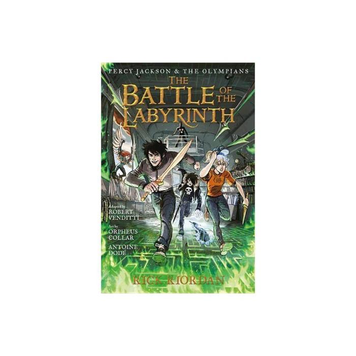 Jual Percy Jackson The Olympians 04 Graphic Novel The Battle Of Jakarta Selatan Booktop Tokopedia