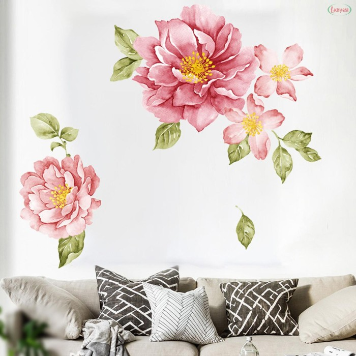 Jual Wall Stickers Bedroom Living Room Decor Decoration Removable Kab Blitar Samayuk Tokopedia