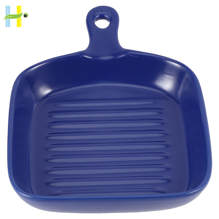 Jual Baking Dish With A Handle Ceramic Plates Microwave Oven Blue Square Jakarta Pusat Mama Online88 Tokopedia