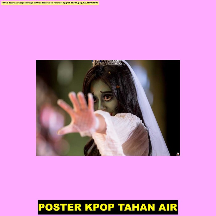 Jual Poster Kpop Twice Tzuyu As Corpse Bridge At Once Hallowee 91d 60x40cm Kab Majalengka Juragan Poster Murah Tokopedia
