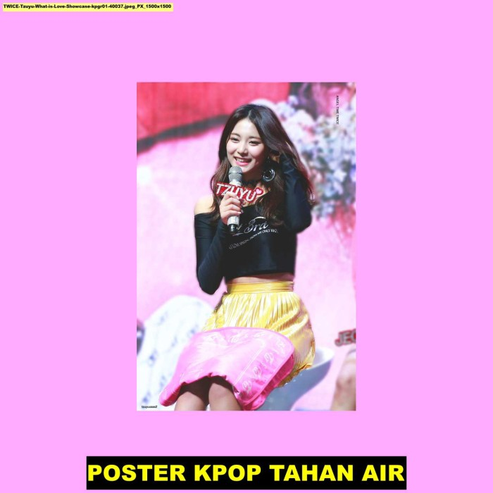 Jual Poster Kpop Twice Tzuyu What Is Love Showcase 40037 60x40cm Kab Majalengka Juragan Poster Murah Tokopedia