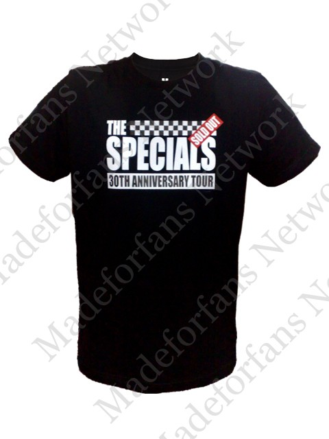 "Foto Produk The Specials ""30th Anniversary Tour"" Tshirt dari Made For Fans Network"