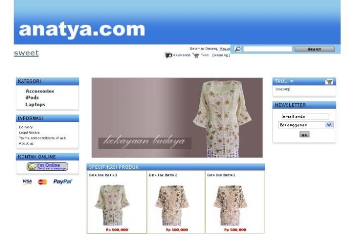 Foto Produk Simply Blue dari Anatya.com
