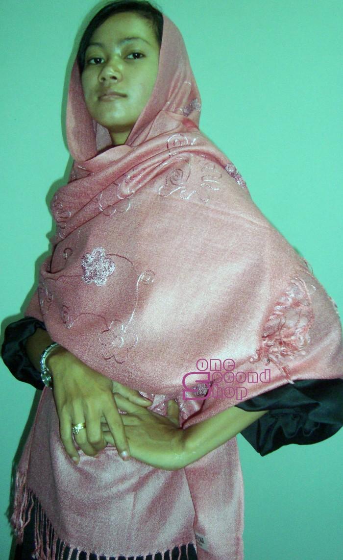 Foto Produk Pasmina KW 1 Warna Pink dari One Second Shop