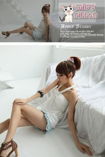 Foto Produk Cutie Halter white dari Miu's Ribbon