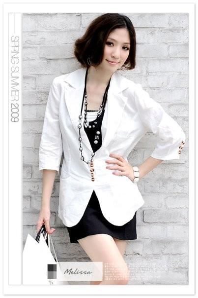 Foto Produk cute blazer white dari Miu's Ribbon