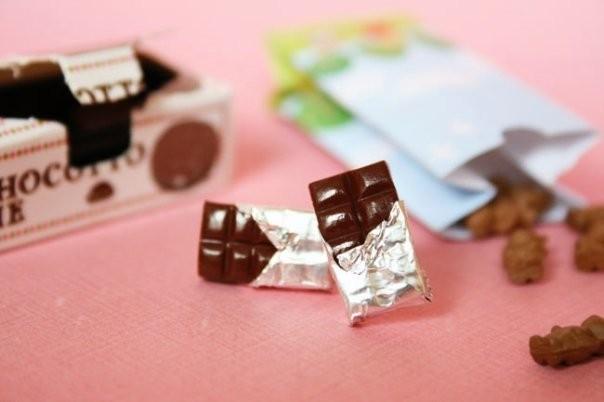 Foto Produk Choco Earring dari Miu's Ribbon