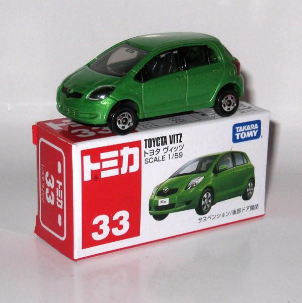 Foto Produk #033 Toyota Vitz / Yaris Green (TTB) - STOK HABIS dari Tomica Shop