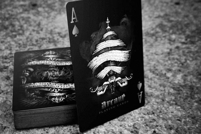 Foto Produk ARCANE Black :: Ellusionist Playing Card dari DZ Store