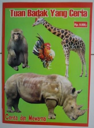 Jual Buku Gambar Dan Mewarnai Binatang Tokoaneka Tokopedia