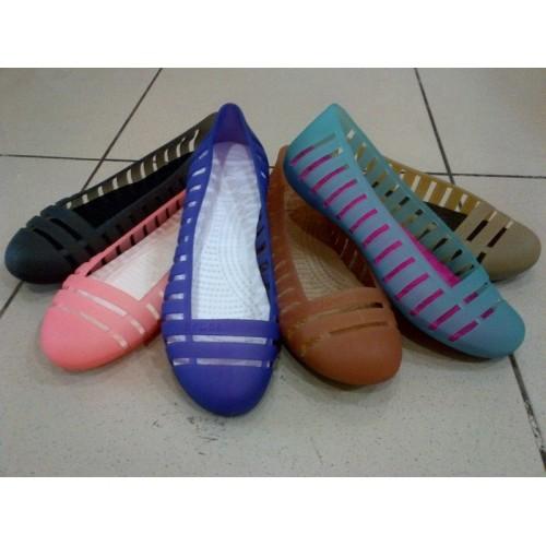 922510d00f65 Jual Crocs Adrina Flat 2 ( Ultraviolet - Oyster) - DKI Jakarta ...