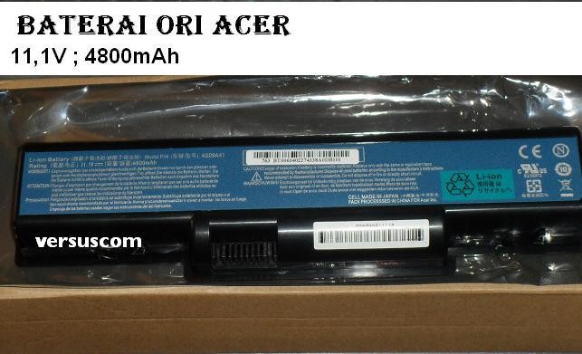 Original Baterai Laptop ACER Aspire 4732 4732Z Series Part Number AS09A41