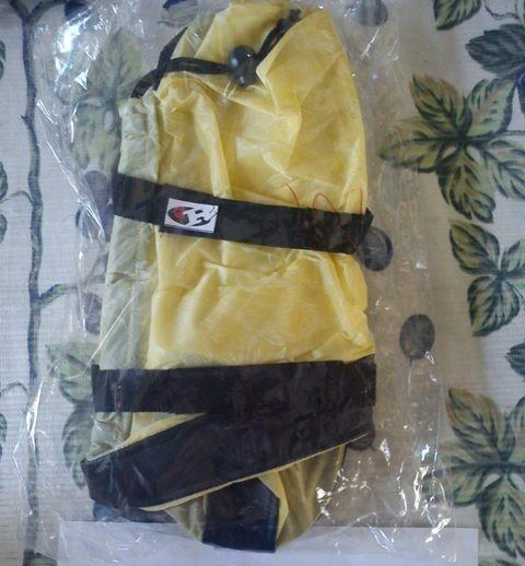Foto Produk jas hujan / mantel sepatu (kuning motif bunga) dari Tokokou