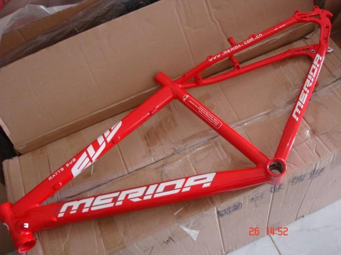 Jual Frame MERIDA Red - Bike Market | Tokopedia