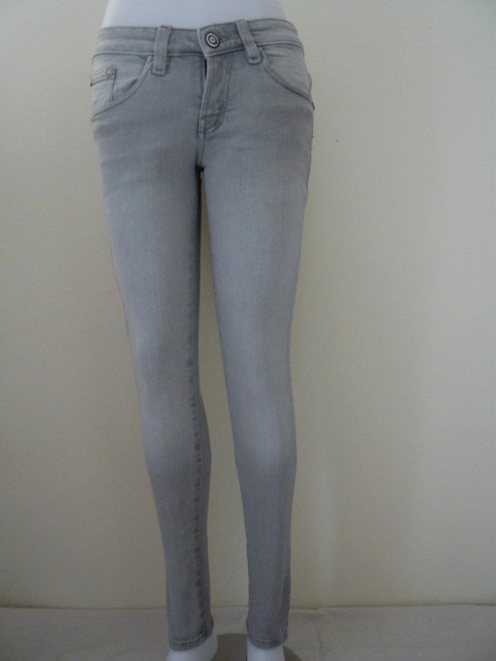 Jual Jeans Pensil Warna Abu Muda Fashion Jeans Tokopedia