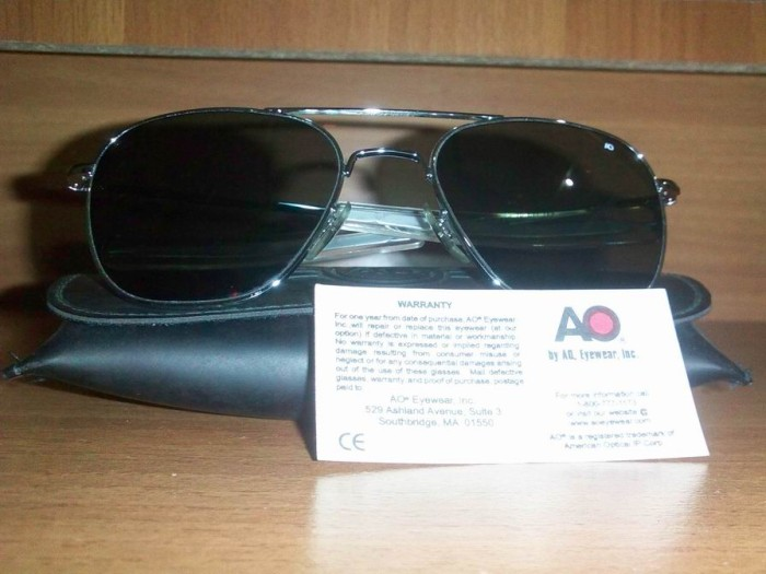 SPECIAL  Original Sunglasses AO (American Optical) PILOT -- Sunglasses  Standard Militer US Air Force cac9969b0e