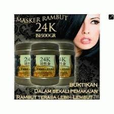 ... Masker Rambut 24k [24k Active Gold Repair Hot Oil] 500ml ...