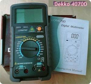 harga Dekko handheld lcr meter 4070d Tokopedia.com
