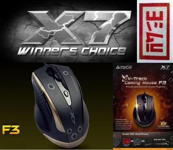 Jual A4Tech Gaming Mouse X7 F3