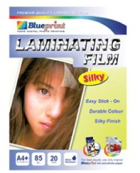 harga Blueprint laminating silky film (bp-sfa485)- a4 20 sheet 55um laminating silky water resistant Tokopedia.com