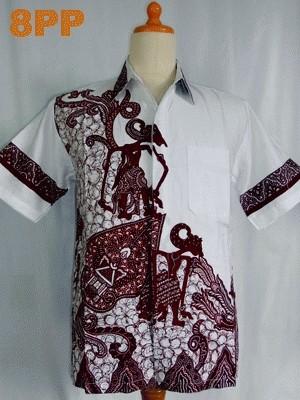 Foto Produk Hem Batik Wayang dari Harunsolo Colection