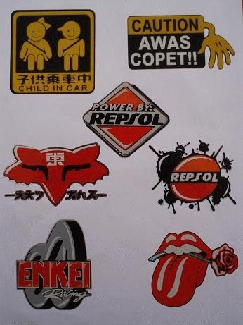 Foto Produk Sticker Tumpuk dari Lingkar Kreasi