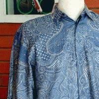 Foto Produk Kemeja Batik Sutera Tenun bagi yang mau dijual lagi (jumlah 10 potong) dari Toko Batik Solo