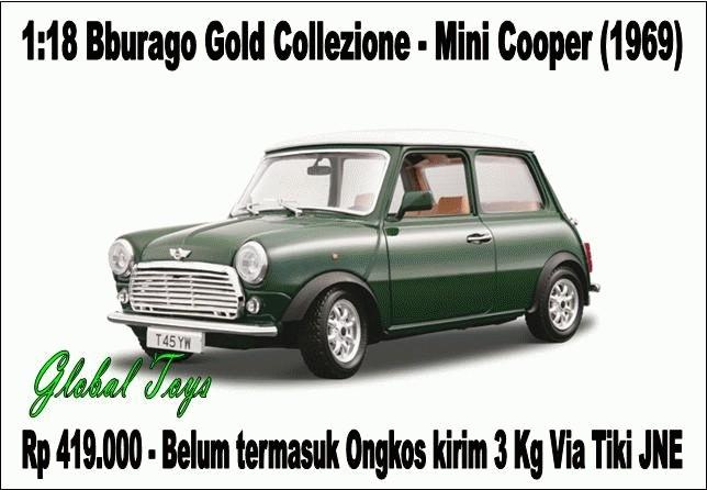 Foto Produk Mini Cooper (1969) dari Global Toys