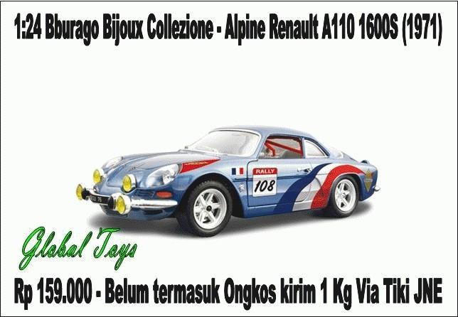 Foto Produk Alpine Renault A110 1600S (1971) dari Global Toys