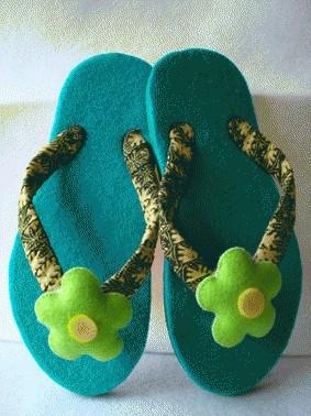 Foto Produk Sandal Handmade Flannel dari Adhimas Satrio