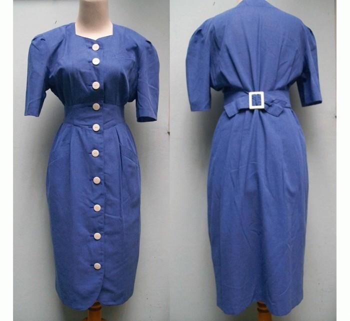 Foto Produk White Buttoned Dress dari Tigerlily Store