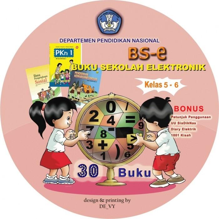 Foto Produk Buku Sekolah Elektronik(BSe) SD kls 5 - 6 dari De_Vy