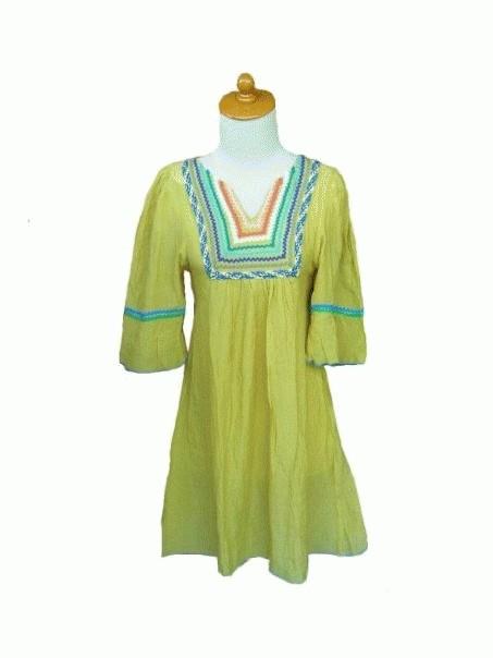 Foto Produk yellow tunic dari rlsdn-3851