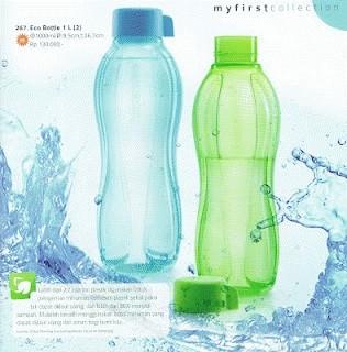 Tupperware Eco Bottle 1 Liter (2 pcs)