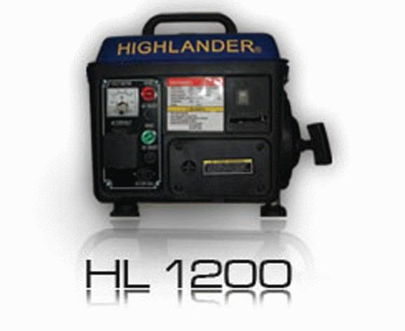 Foto Produk Portable Genset Highlander HL-1200LX dari rlsdn-89539