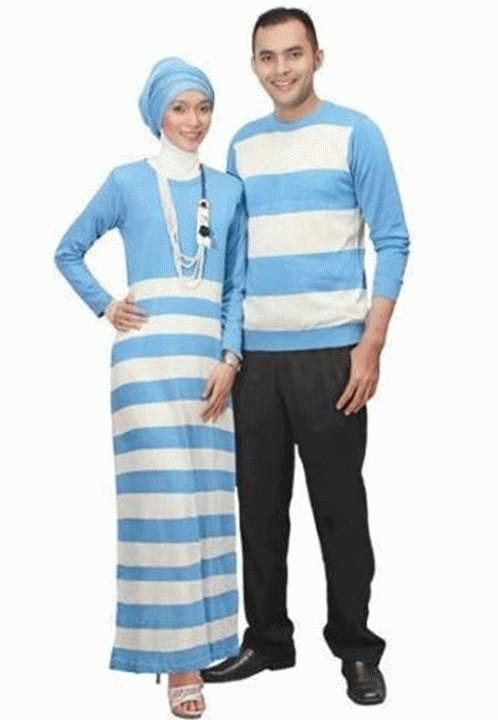Jual Couple Gamis Zahira Baju Pasangan Muslim Pria