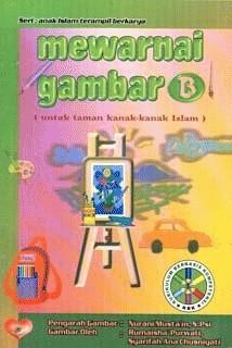 Jual Mewarnai Gambar B Untuk Anak Tk Seri Anak Islam Terampil