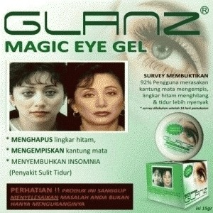 harga Glanz magic eye gel Tokopedia.com