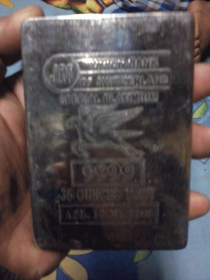 Jual Logam Special Platinum Murni Batangan Nga Ada Nama Toko