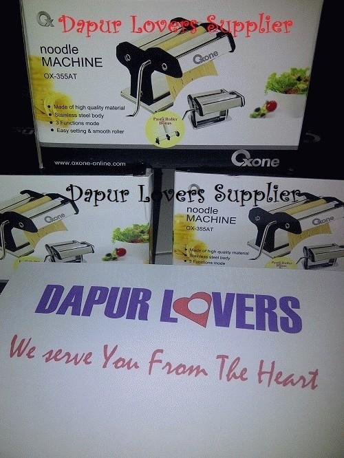 Jual Oxone Noodle Maker OX-355AT (Pembuat Pasta, mie, Kulit pastel, dll)  Murah - Jakarta Timur - Dapur Lovers Supplier | Tokopedia