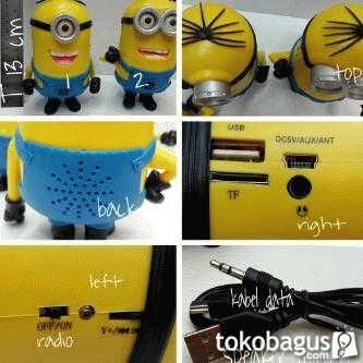 harga Speaker minion 3d Tokopedia.com