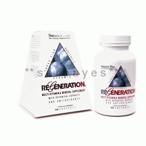 Foto Produk 8347A - Suplemen nutrisi vitamin mineral Nature Plus Regeneration isi 90 dari serbayes