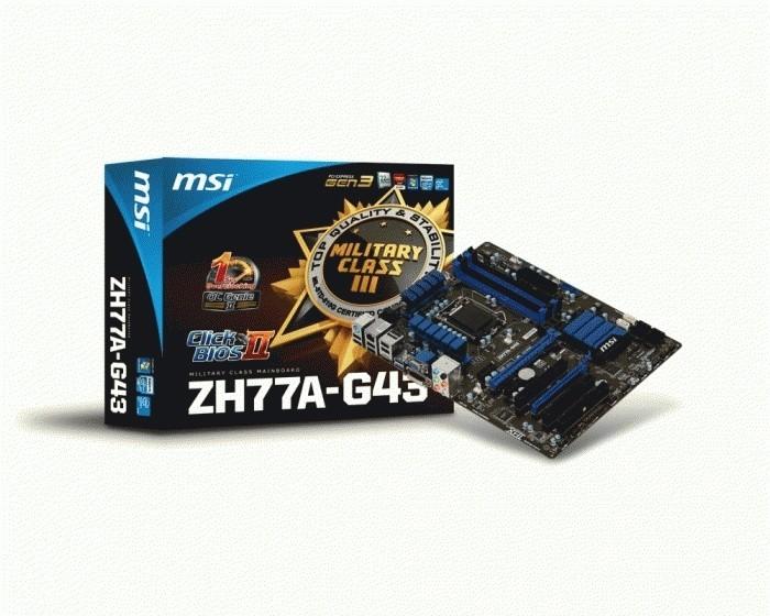 MSI ZH77A-G43 THX TruStudio PRO Driver for Windows 7