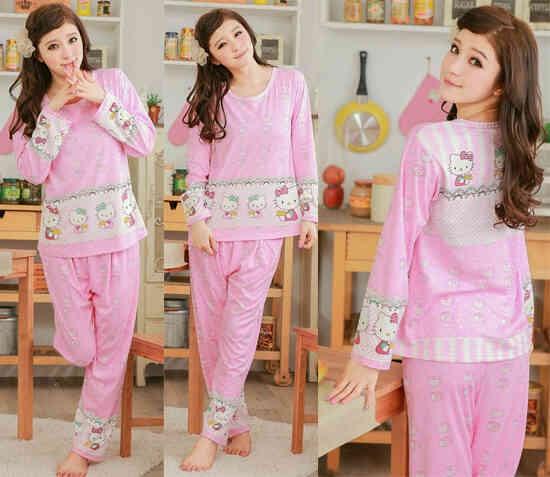 Jual Baju Tidur Panjang Style Kores
