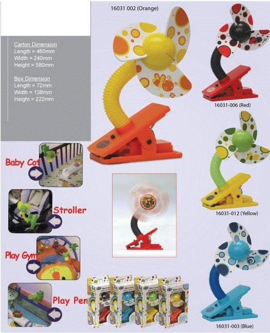 harga Kipas kereta bayi/fan stroller baby&ranjang baby(box bayi).aman untuk baby&anak2. Tokopedia.com