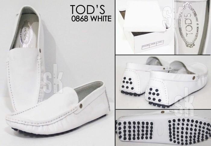 harga Sepatu Formal Pria Tods Putih Sepatu Tokopedia.com