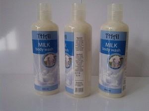 Jual Thai Milk Body Wash With Milk Goat's / Sabun Cair Susu Domba .